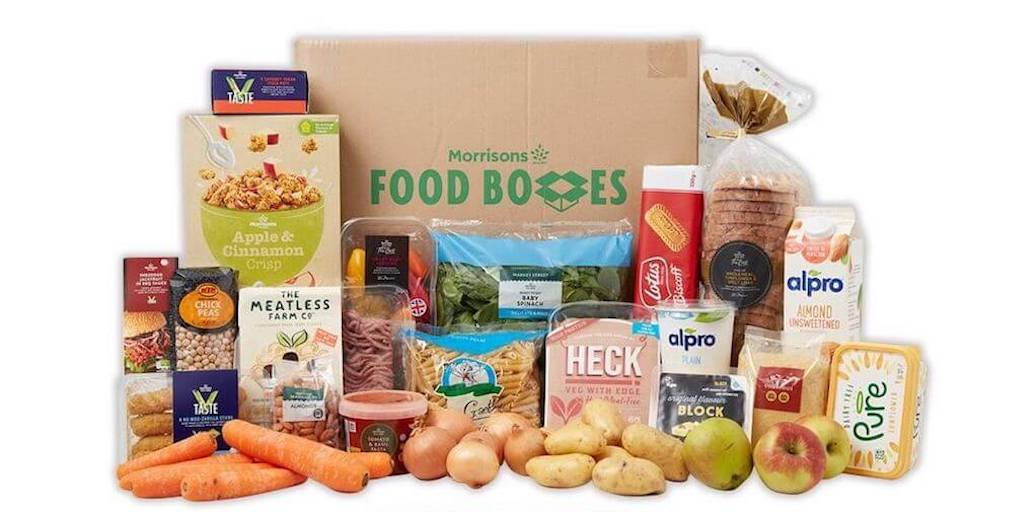 Morrisons launches vegan boxes with free next day delivery to make food easily available amid lockdown