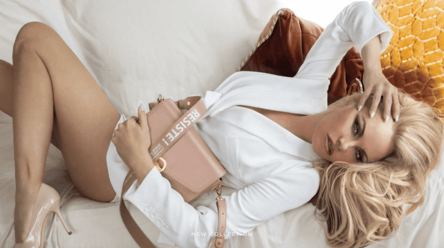 Pamela Anderson just launched a vegan bag collection