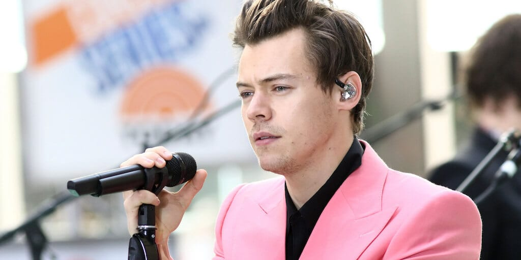 Singing superstar Harry Styles doesn't eat meat