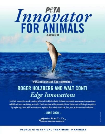 'Visionary designers' create life-like Robotic Dolphin that can replace animals in cruel marine parks