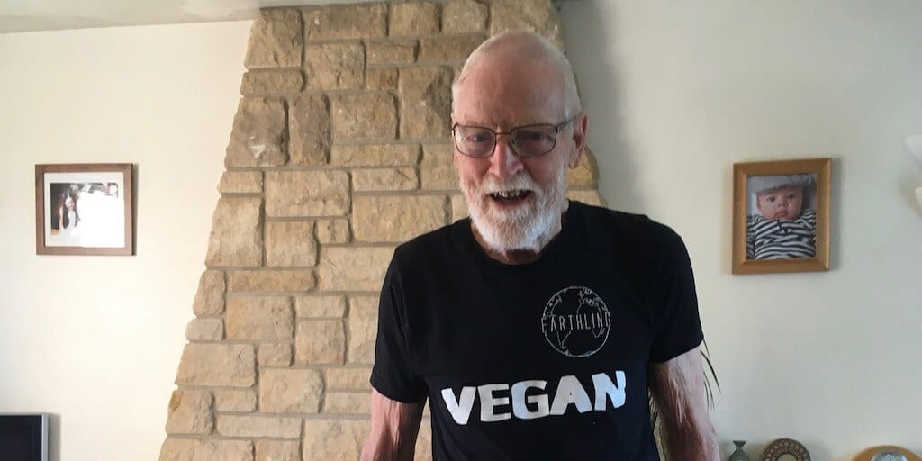 82-year-old vegan is running 100km to raise funds for struggling animal sanctuary