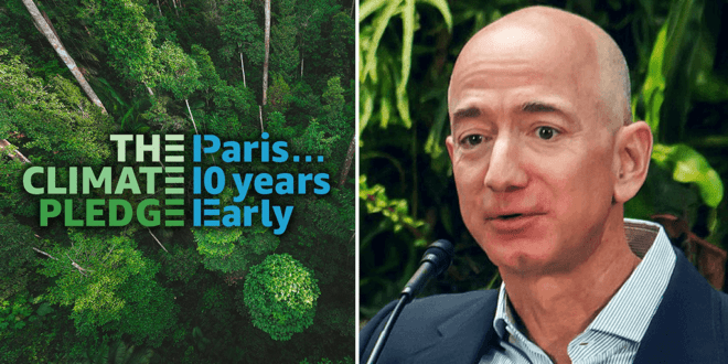 Amazon invests $2 billion to tackle climate change crisis with sustainable technologies