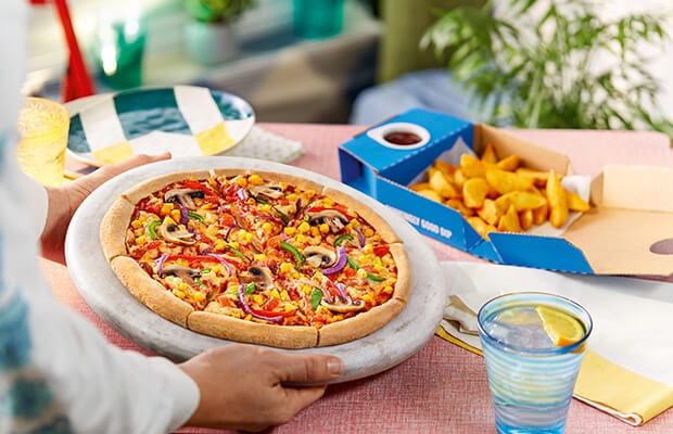 Domino's FINALLY goes VEGAN with 2 plant based pizza launches in UK