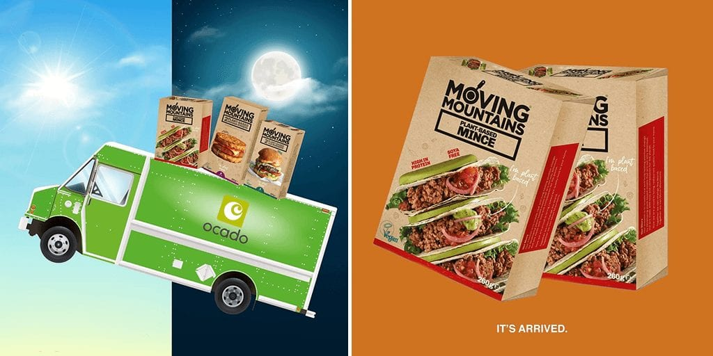 Moving Mountains 'bleeding' plant-based burgers now available in Ocado