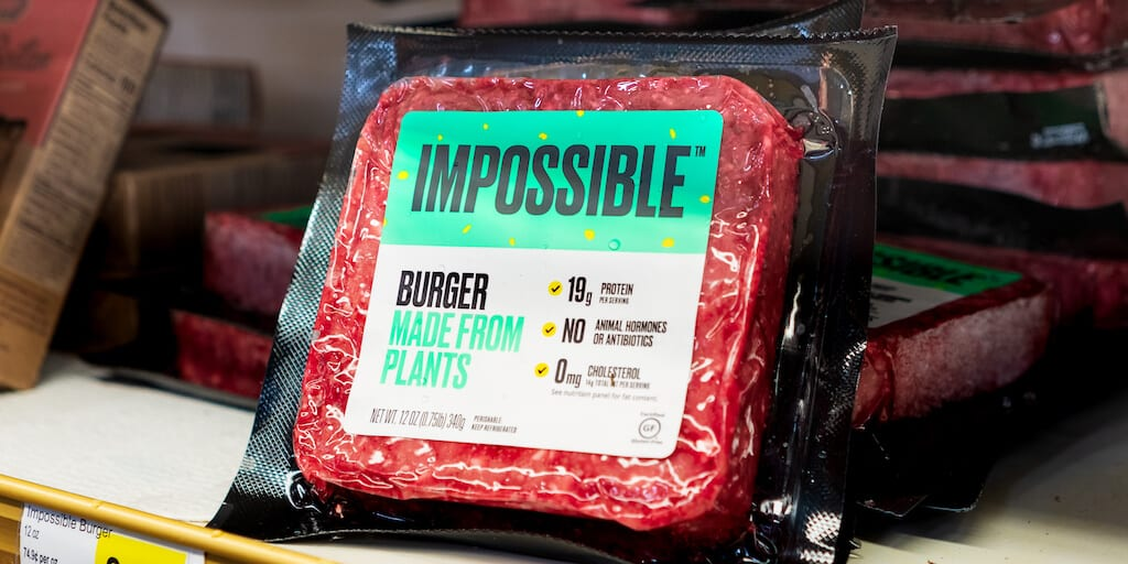 "Nestlé forced to rebrand ""Incredible Burger"" after legally losing Impossible Foods"