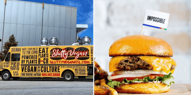Slutty Vegan to donate thousands of Impossible burgers to Atlanta frontline responders