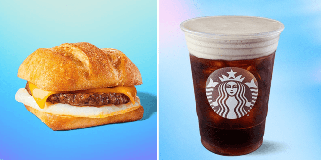 Starbucks U.S. just launched vegan Impossible sausages and plant-based drinks