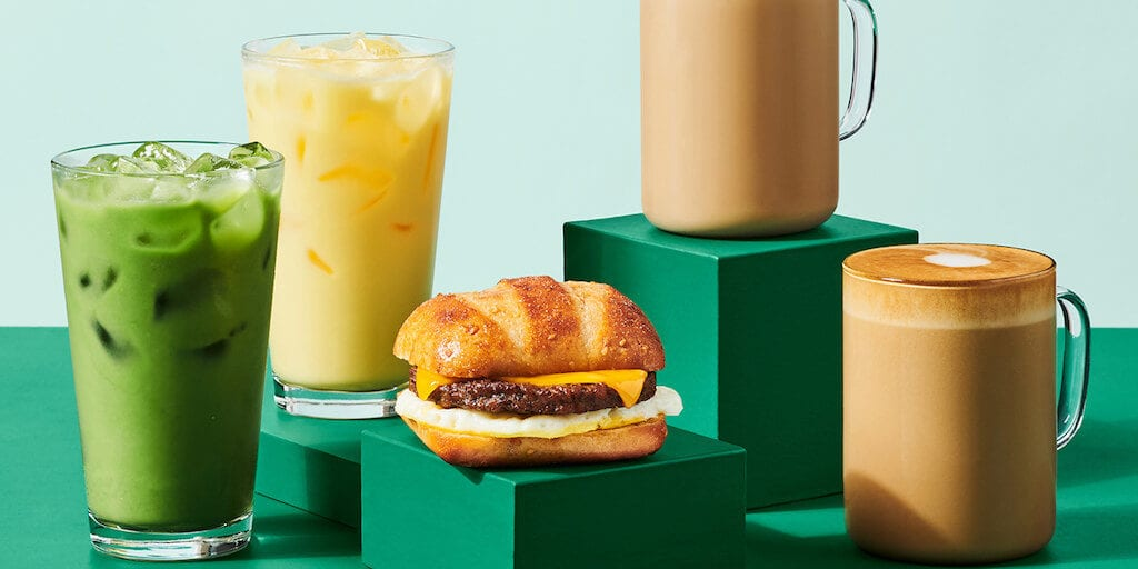 Starbucks U.S. just launched vegan Impossible sausages and plantbased drinks