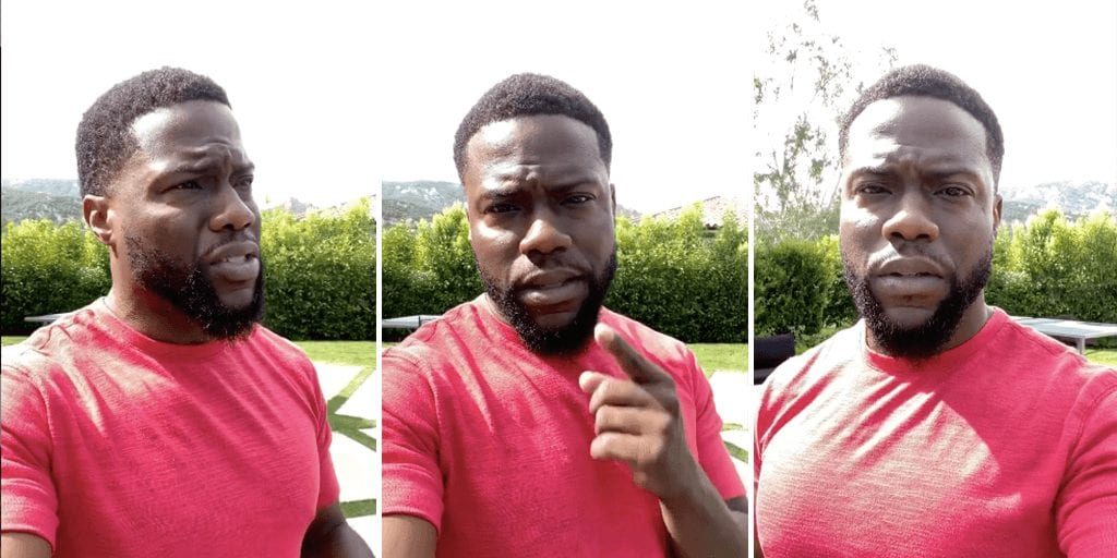 Upset Kevin Hart tells media to not change narrative to rioting amid ongoing BLM protests