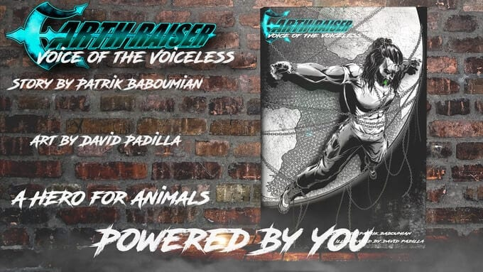 Vegan strongman Patrik Baboumian to release comic book on animal rights