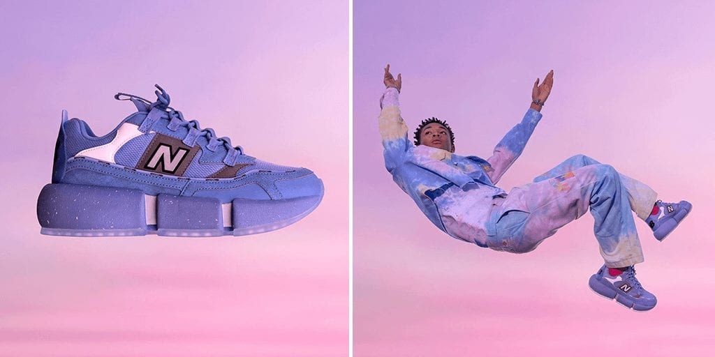 Jaden Smith launches first vegan New Balance sneaker