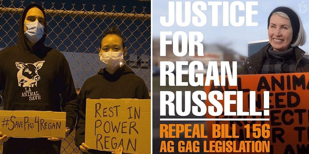Joaquin Phoenix attends vigil to honour fallen animal activist Regan Russell