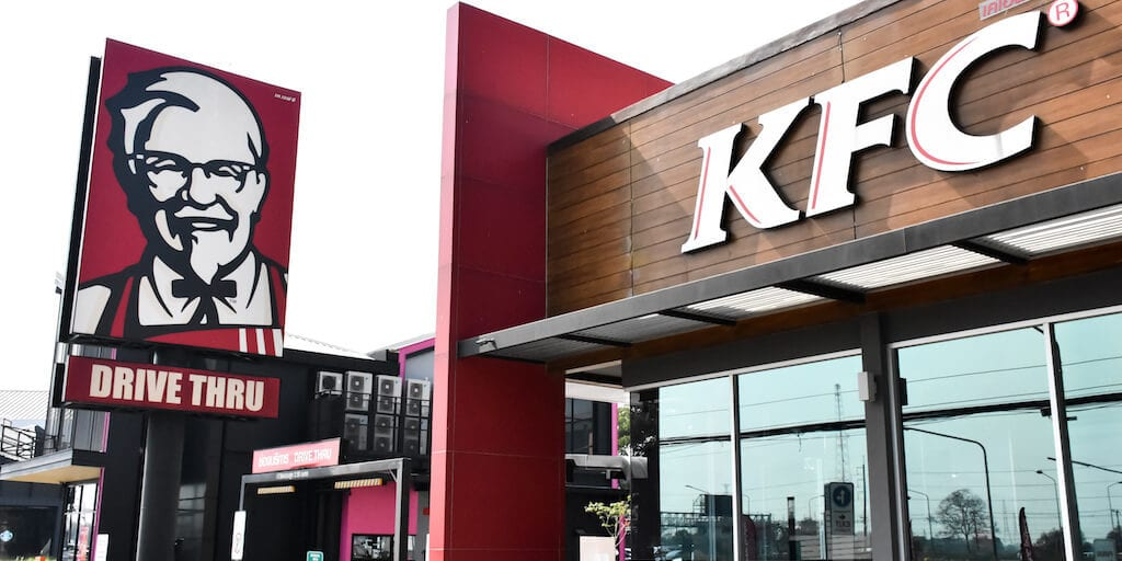 KFC is creating the 'meat of the future' with 3D-printer