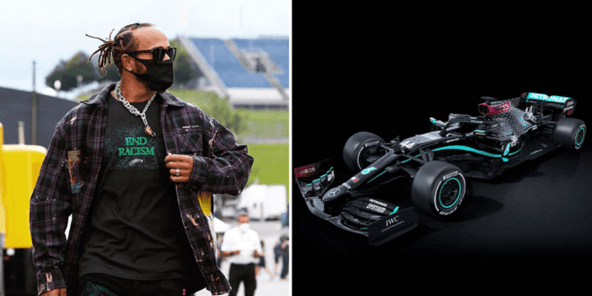 Lewis Hamilton will race in new 'End Racism' F1 car this Austrian Grand Prix