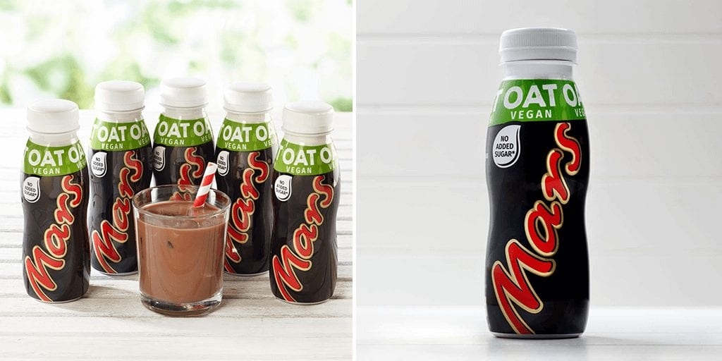 Mars just launched vegan chocolate 'Mars Oat' drink