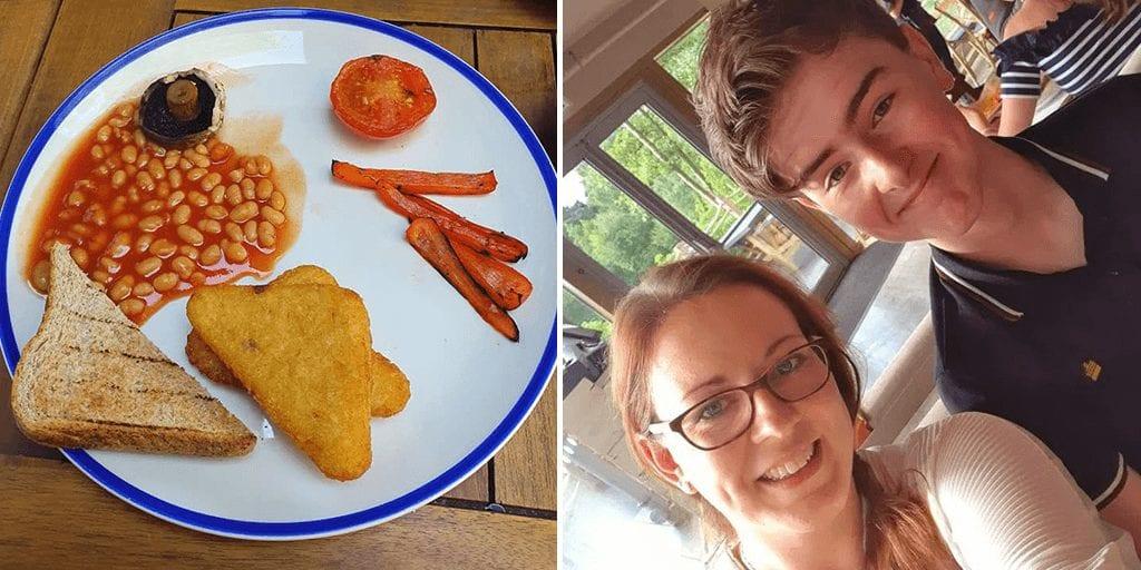 Mum horrified by pathetic-looking vegan breakfast at Center Parcs