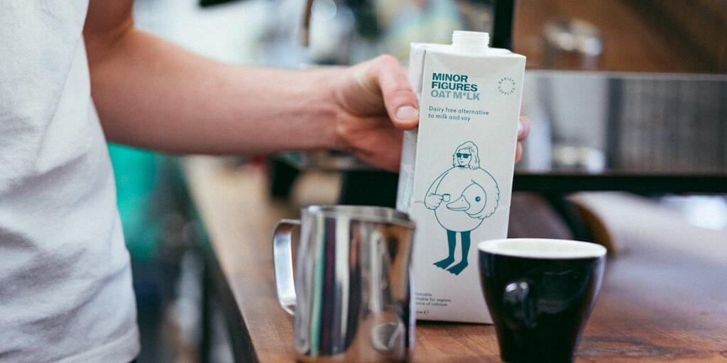 Oat milk sales surge by 113% at Waitrose