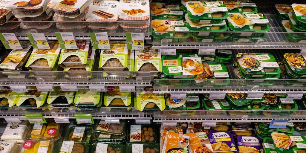 Plant-based meat sales spike 23%