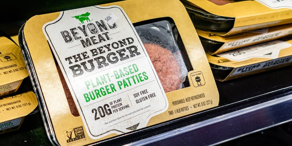 Plant-based meat sales spike by 23% when sold meat aisles