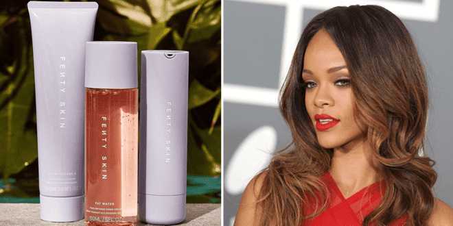Rihanna's Fenty Skincare Brand launches unisex vegan products