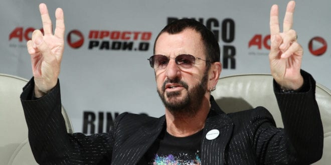 "Ringo Starr says broccoli and blueberries keep him ""young and active"""