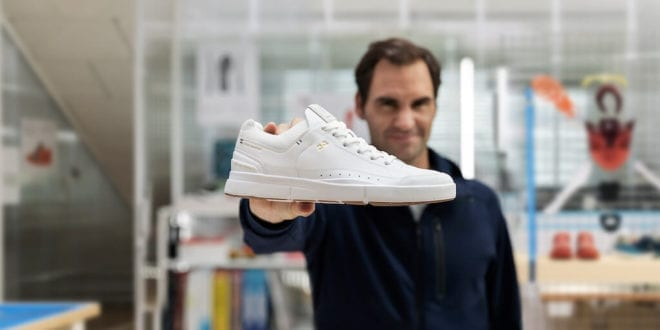 Roger Federer launches his first ever limited edition vegan sneakers