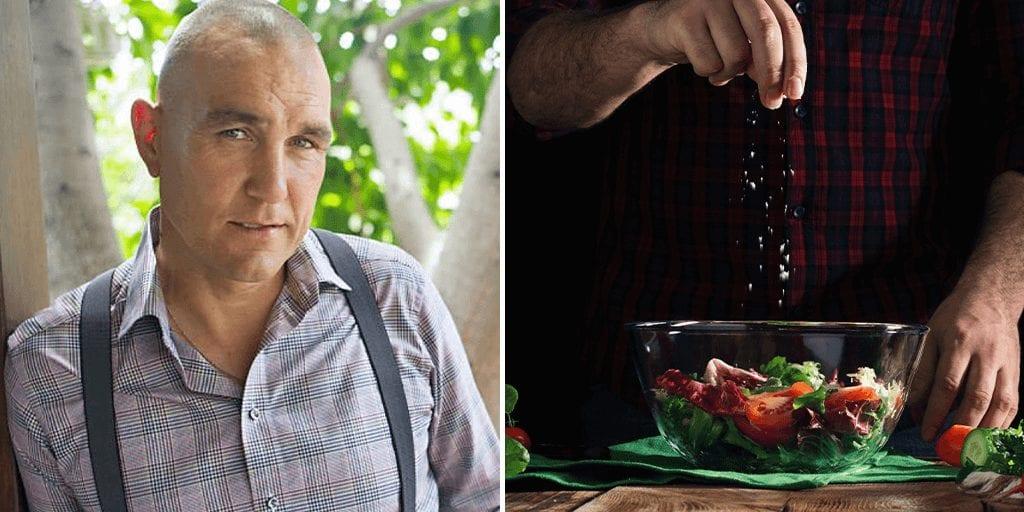 Vinnie Jones plant-based food