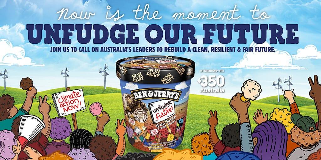 Ben & Jerry's launches Unfudge Our Future vegan ice cream