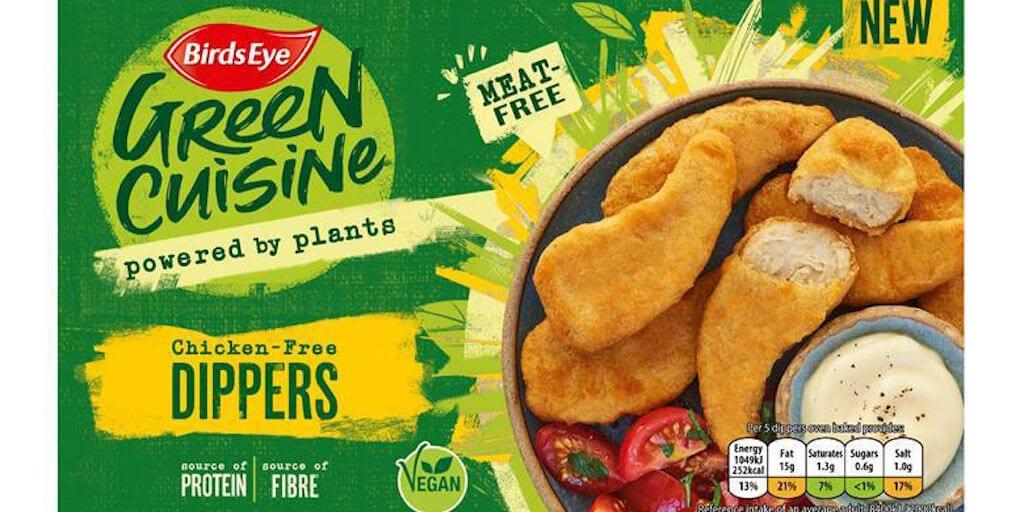 Birds Eye just added vegan chicken to its Green Cuisine range
