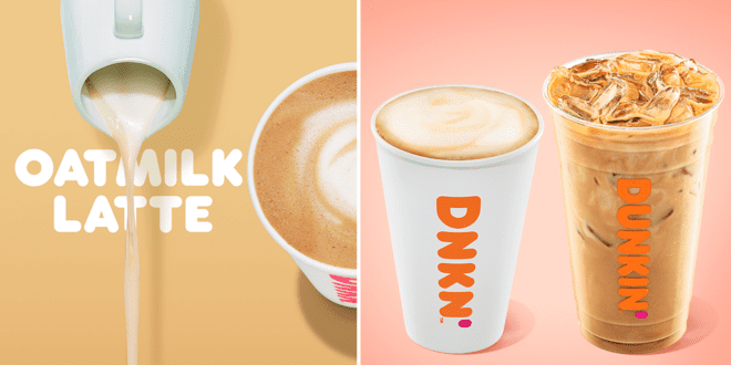 Dunkin' just launched oat milk at all 9000+ locations across the US