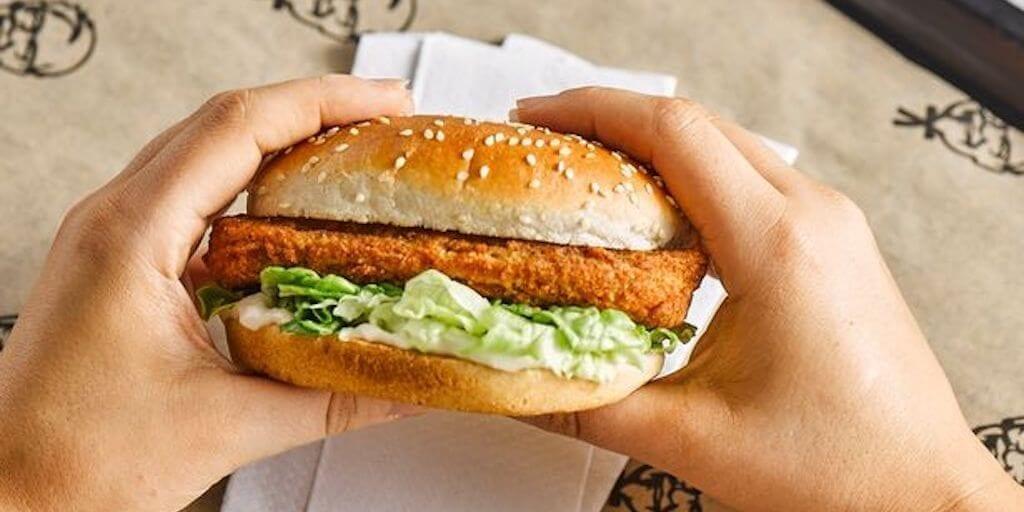 KFC vegan burger returns to UK outlets next week