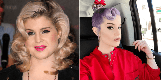 Kelly Osbourne sheds 85 pounds following a plant-based diet