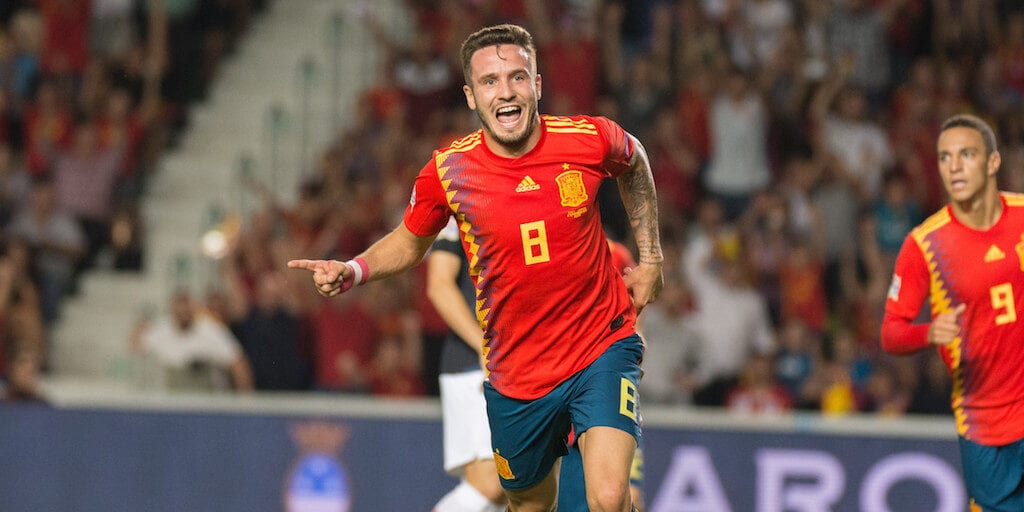 Top footballer Saúl Esclápez says a plant-based diet is 'very beneficial for everyone'
