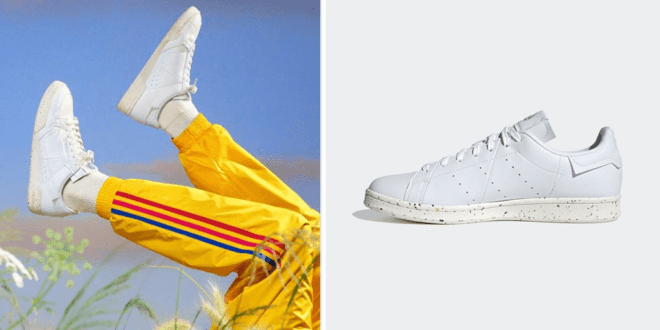 Adidas launches 'new clean classic line' of its iconic sneakers to help end plastic waste