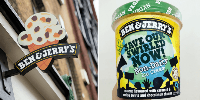 Ben & Jerry's just launched a new climate themed vegan flavour in the UK