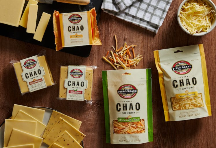 Field Roast launches 5 new plant-based cheeses offering taste that only Chao can deliver