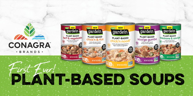 Gardein launches first ever plant-based meat alternative soup collection