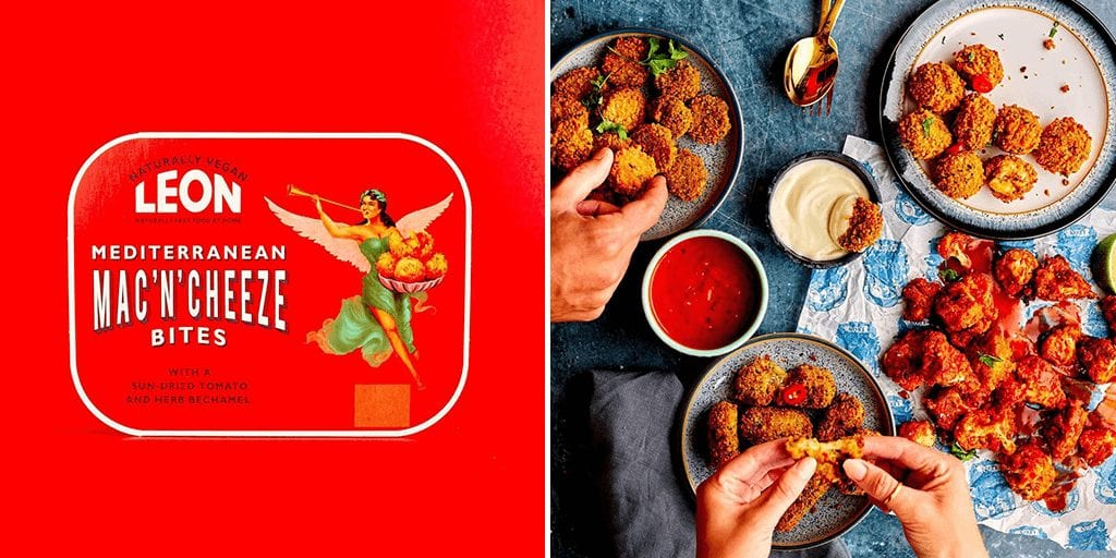 Leon launches new vegan ready meals and sides exclusively into Sainsbury's stores