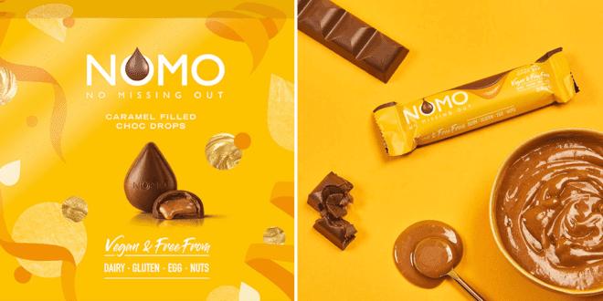 NOMO launches vegan caramel chocolate drops for Christmas