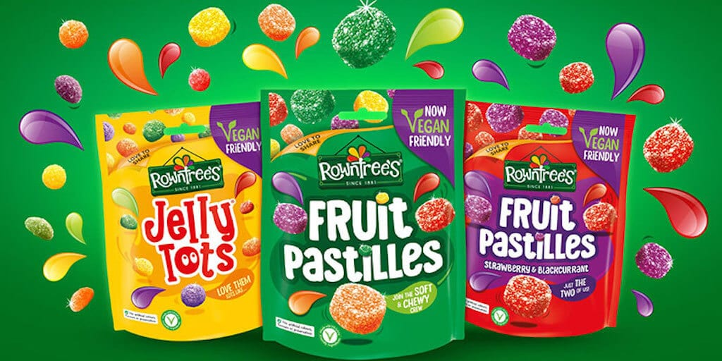 Nestlé makes 140-year-old Rowntree's fruit pastilles officially vegan