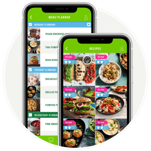 Newly launched Veggie Challenge App to help you go plant-based with meal plans, tips, recipes and more