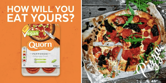 Quorn just launched vegan pepperoni in UK supermarkets
