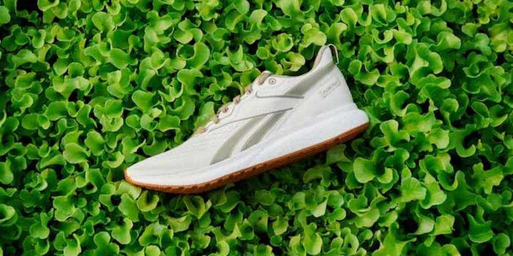 Reebok's first vegan performance sneakers come with a crate fresh veggies