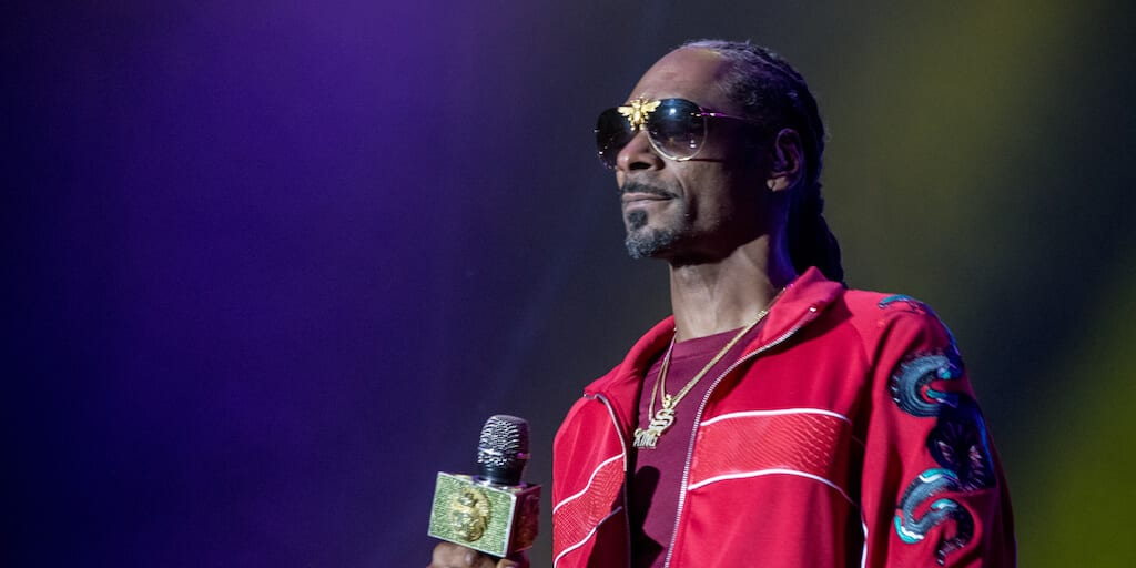 Snoop Dogg's vegan family helping him 'change up' his diet