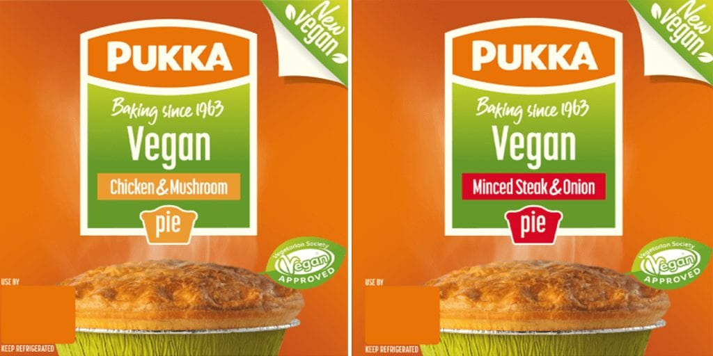 UK's top pie maker launches first-ever vegan pies following customer demand