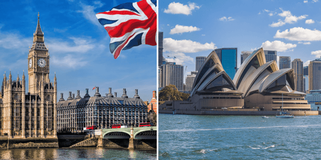 UK and Australia top the list of 2020's most popular countries for vegans