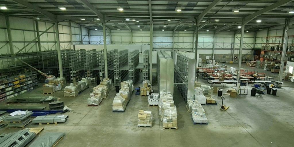 Vegan supermarket installs 'world's biggest vegan fridge' after relocating to a 35,000 sq ft base
