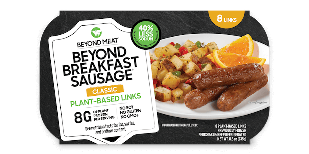 Beyond Meat launches new breakfast sausage US