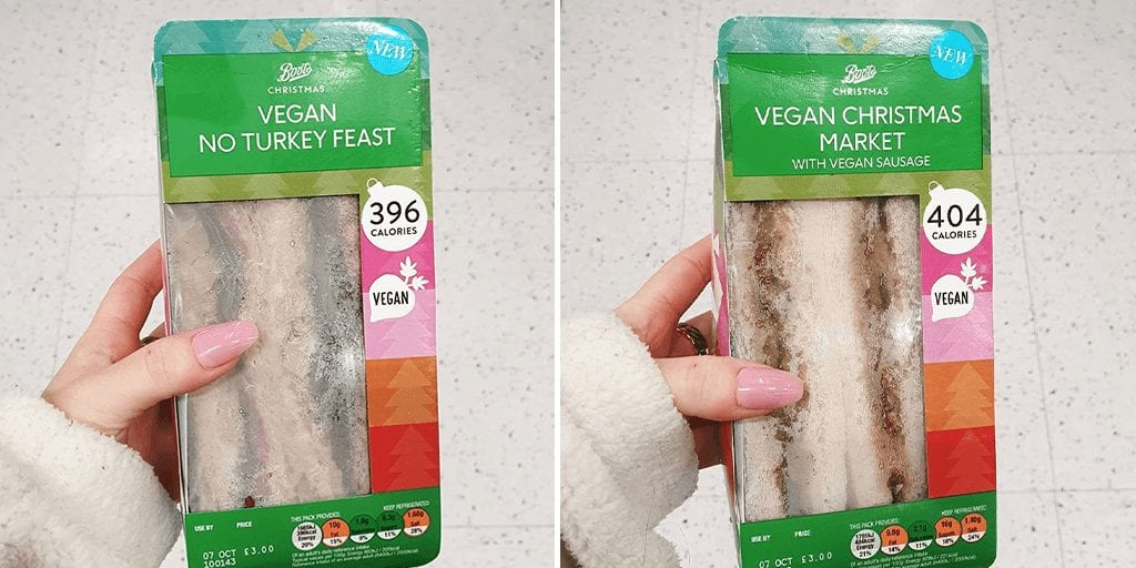 Boots launches first vegan turkey sandwich of the year