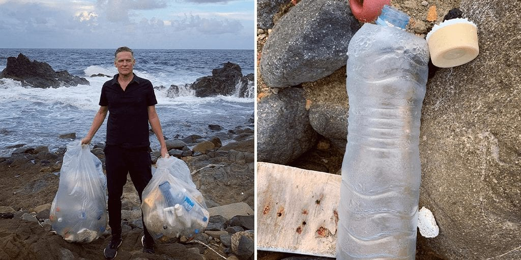 Bryan Adams urges 813K fans to 'make healthy ocean a priority' after 'cove clean up'